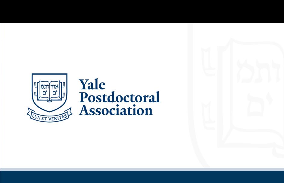 Yale Postdoctoral Association